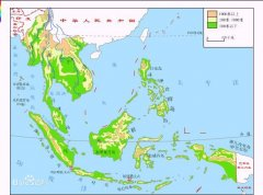 世界最大的群岛:马来群岛(南洋群岛2.4万个岛屿