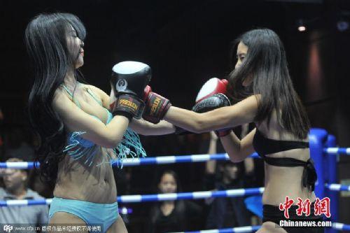 史上最性感的女星拳霸 场面激烈火爆