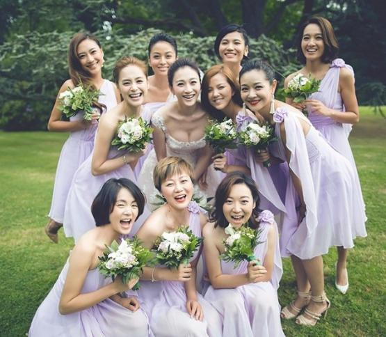 史上最强明星嘉宾伴娘伴郎团-黄教主baby婚礼名单