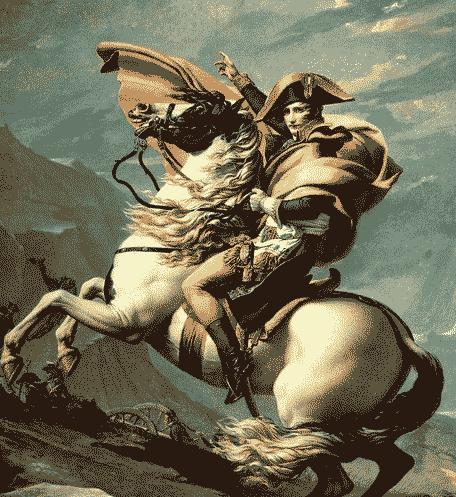 史上法兰西第一帝国开始到覆灭时间-1804年 拿破