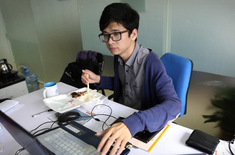 潮汕最牛90后情侣创中国最大的大学生兼职平台-王锐旭和甄蔼仪