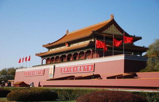 世界上最大的城市中心广场--中国北京天安门广场