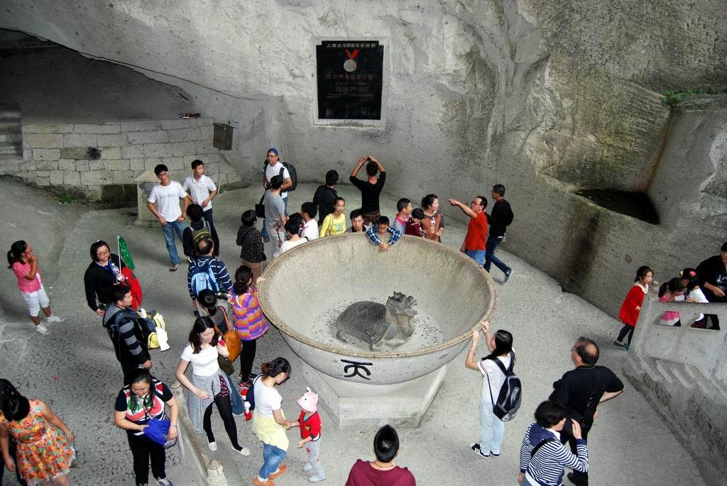 世界上最大的碗是什么?天下第一大石碗:硐天宝碗