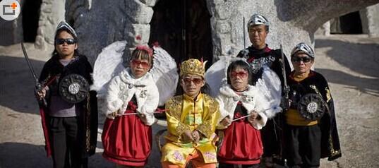 史上最矮人国-中国昆明市西山之麓