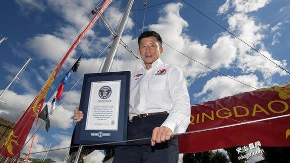 世界上最快单人航海环游(40英尺级帆船)137天20小时1分57秒