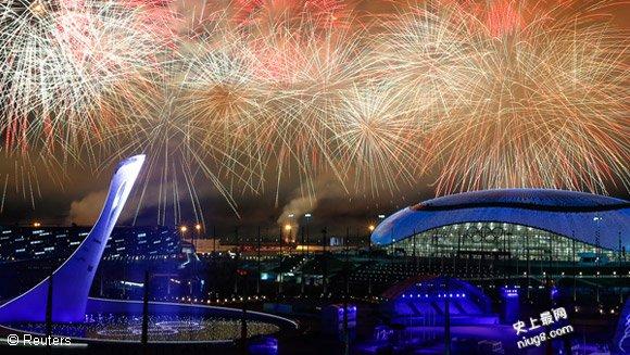 索契冬季奥林匹克运动会最受欢迎的十项纪录