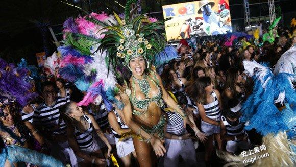 史上最大桑巴舞表演(里约大冒险2)256位舞者组成