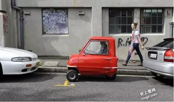 世界上最小的量产汽车——Peel P50