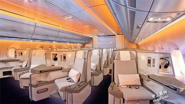 最好睡眠客机-中国华航新机A350
