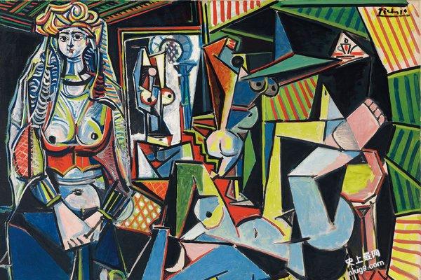 史上最高价艺术品-毕加索油画拍卖价格1.794亿美元