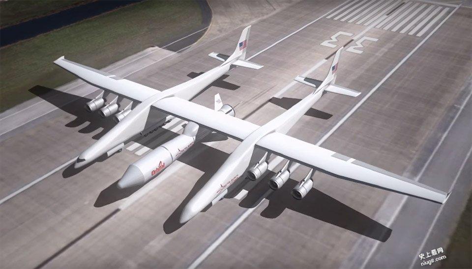世界最大的飞机相当于两架747的合体
