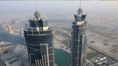 世界最高酒店355.35米-迪拜万豪伯爵酒店