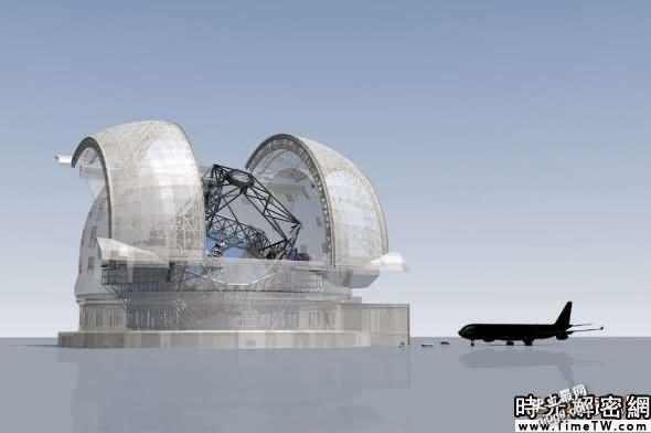 世界最大望远镜直径达42米,重5.5吨