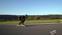 史上最快速度玩电动滑板车95.83公里