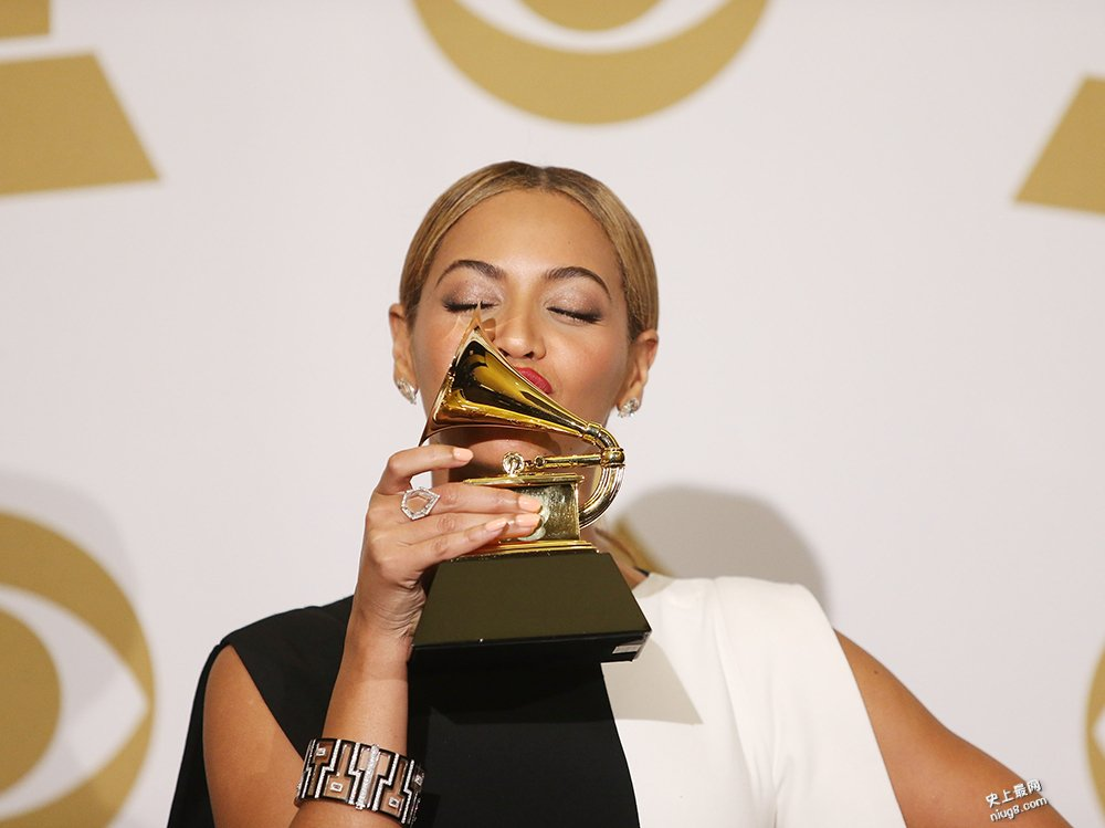 史上Grammy Award获最多提名的女歌手Beyoncé