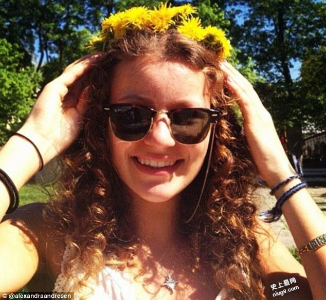 全球最年轻的亿万富豪19岁挪威美少女