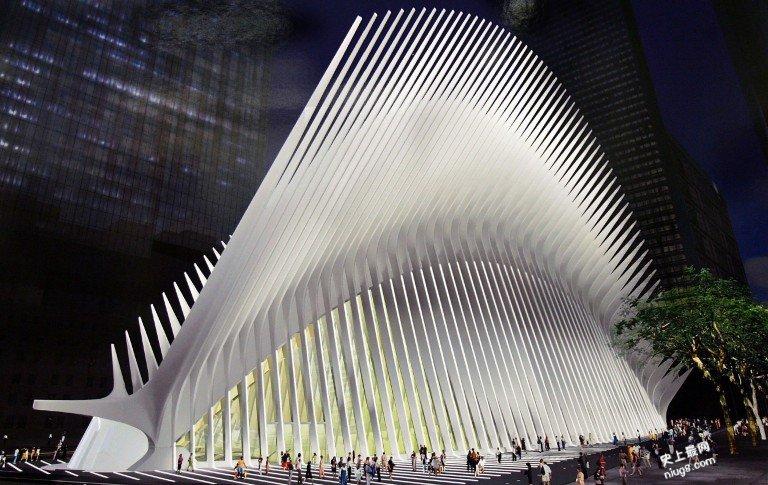 全球造价最昂贵的火车站-911恐攻世界贸易中心旧址