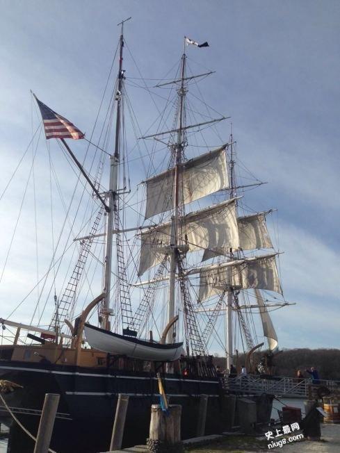 美国最大的海洋博物馆 康州米斯提克玩穿越