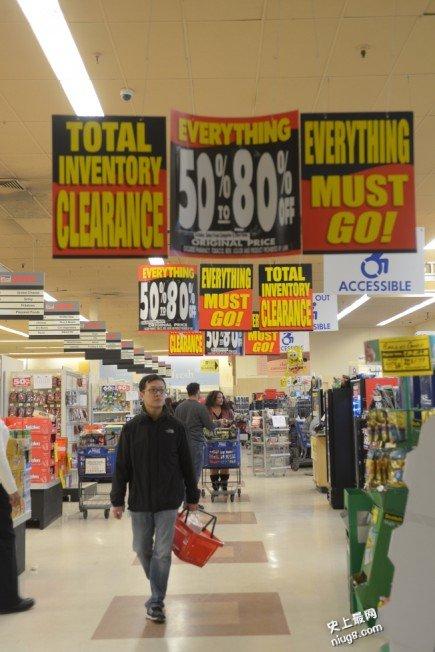 商场店铺结业清仓 不等于捡便宜货!