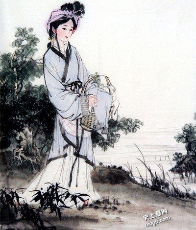 中国古代十大美女 人见人爱美如天仙