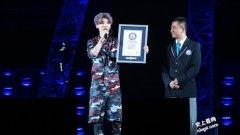 1,731名粉丝同带鹿角头饰 鹿晗北京演唱会再创世界纪录