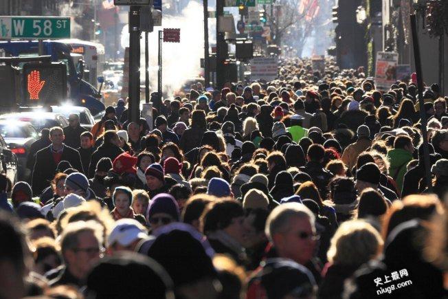 纽约越来越拥挤?没错 人口破850万人纪录了