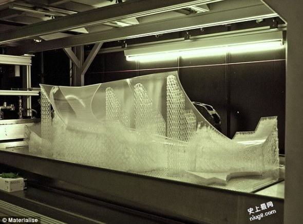 """世界上第一辆3D打印赛车""""阿里翁"""" 最高时速141公里"""