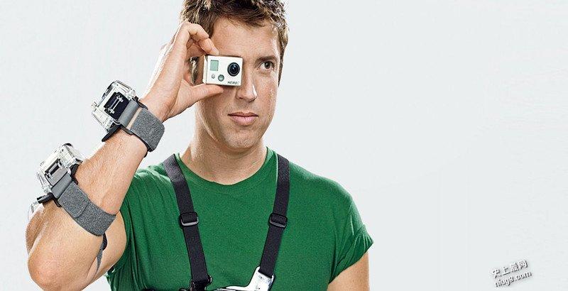 世界上体积最小最轻的4K相机GoPro