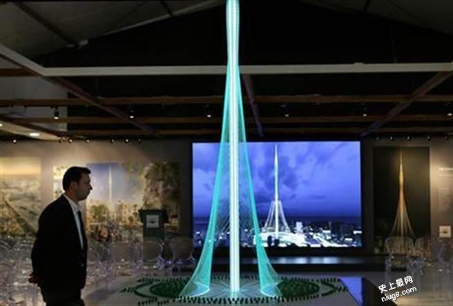 哈里发塔世界最高塔宝座不保 2020年迪拜有新塔