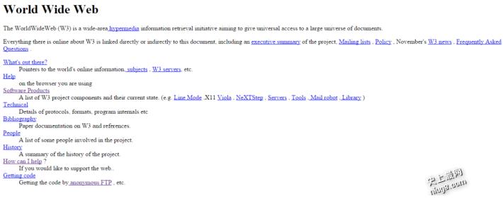 史上第一个网站已25年了
