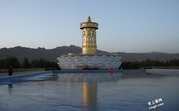 世界最大的拉则-青海省贵德县城堡或宫殿