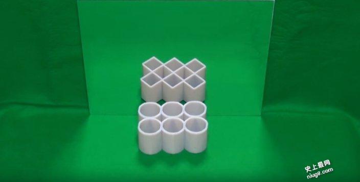 好乱啊!圆柱体又是四角柱体?