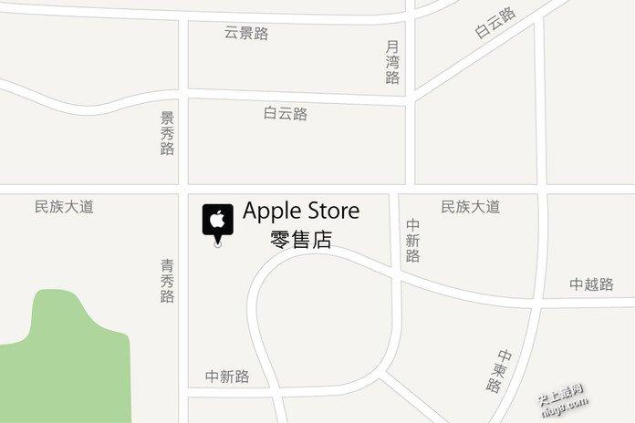 广西南宁万象城苹果零售专卖店在哪里及怎样预约售后