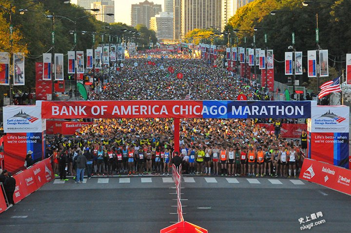 世界最大的马拉松比赛时间和在哪里举办?