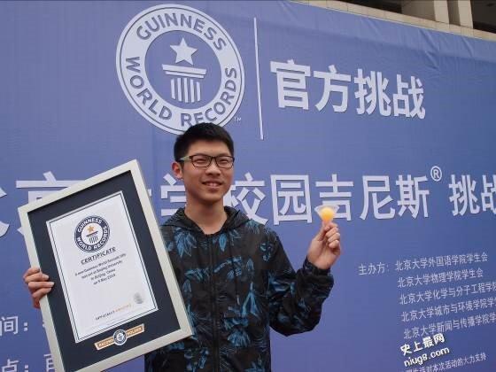 中国各小学、中学、大学院校学生的校园吉尼斯纪录挑战