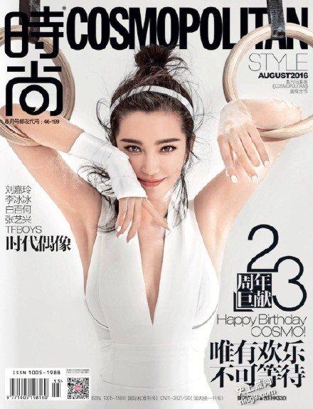 2016奧運主題特輯:劉嘉玲以運動Look低胸騷腿斗李冰冰