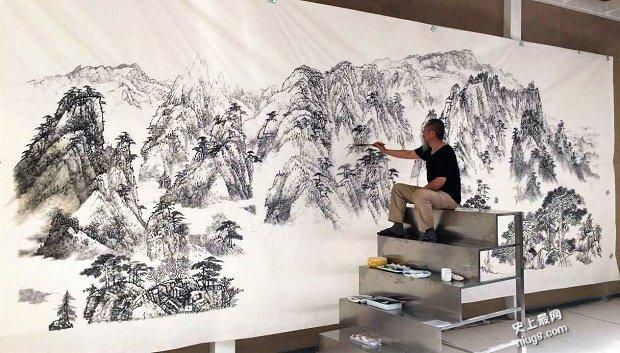 """世界最大宣纸-""""宣纸之乡""""安徽宣城泾县诞生了一项新的吉尼斯"""