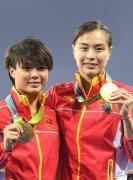 奥运史上跳水成就最高的选手5金吴敏霞 连创多项世界纪录