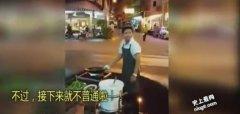 史上最牛街上大排档厨师 飞天传菜