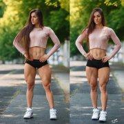 世界最性感的健身教练—拥有巨臀的乌克兰正妹