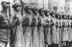 黄埔军校女学员 抗日战争中扮演重要角色