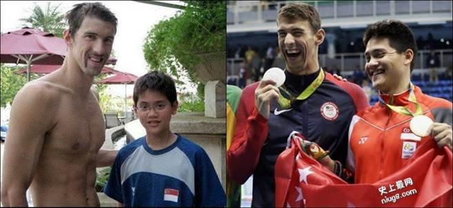 新加坡史上第一金 史库林击败偶像飞鱼菲尔普斯 50秒39改写奥运纪录
