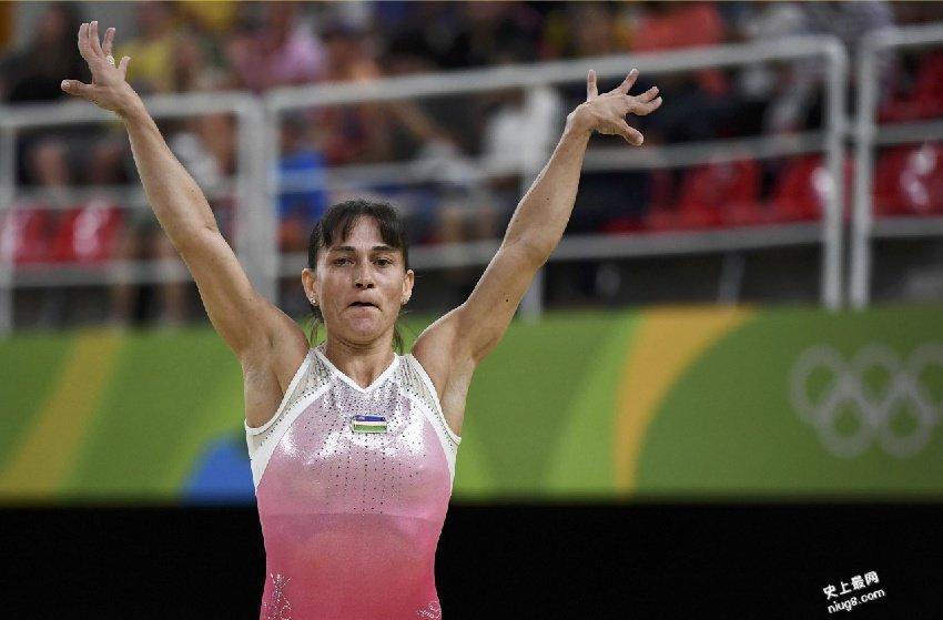 41岁乌兹别克体操选手丘索维金娜OksanaChusovitina(7战奥运的传奇)