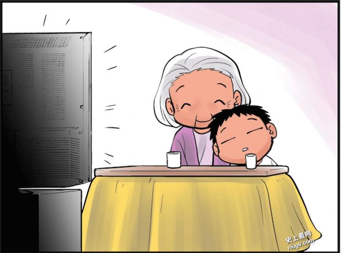 「隔代教养」看这12图「被阿嬷带大的孩子」是最幸福的!