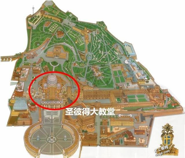 世界最小的国家-梵蒂冈 最大的天主教堂—圣彼得大教堂 人均收入世界