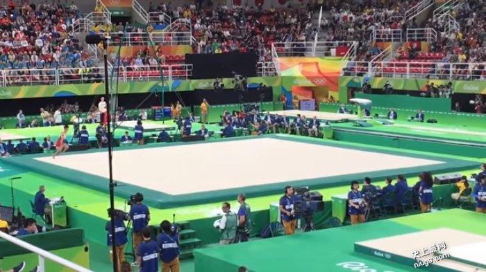 日本体操选手在奥运赛场「空中滚筒洗衣机」神招