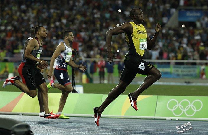 【世界最快】牙买加「闪电飞人」博尔特再赢200米 超级三连霸
