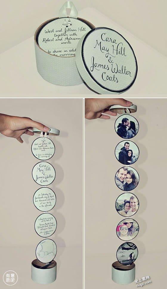 世界各地最有趣的婚礼请柬,最全创意请帖