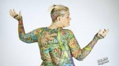 世界上身体最多纹身的人是谁?Cha