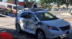 Google自动驾驶车发生首例严重车祸(Lexus RX 450h